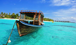 Maldives Dhoni boat