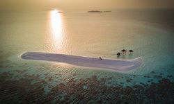 Sunset on South Ari Atoll islets
