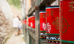 Gorkhi Terelj prayer wheel
