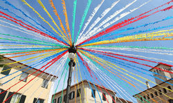 Colourful decorations Menorca