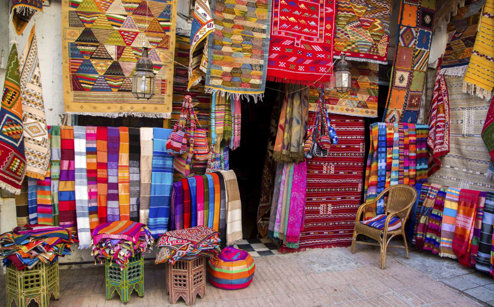 Luxury holidays morocco luxury city beach holidays for Shop decoration items