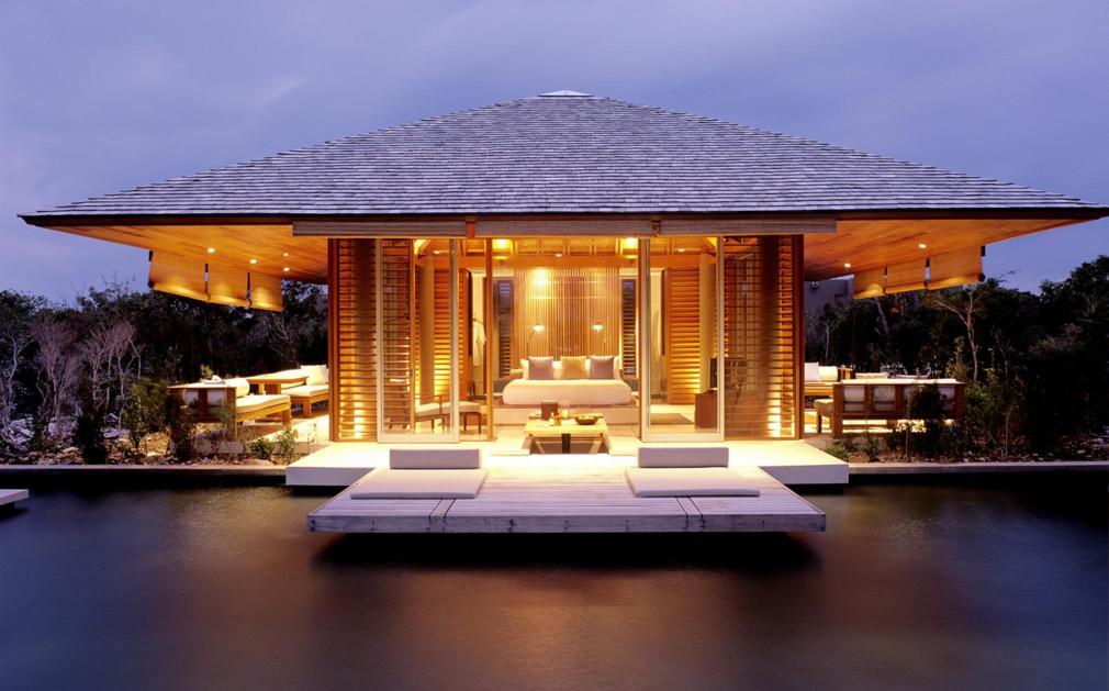 Amanyara Picture Of Pond Pavilion