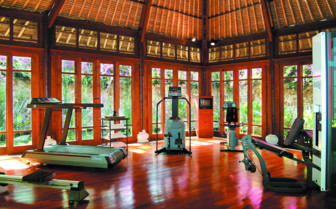 Picture of the Gym at The Oberoi, Lombok