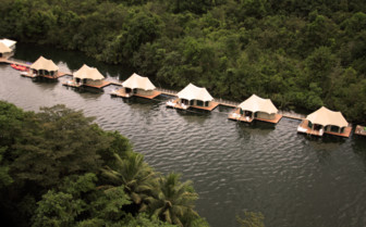 4 Rivers Floating Lodge, luxury hotel in Cambodia