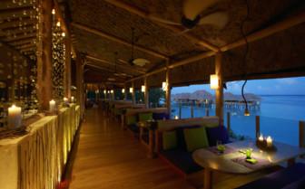The restaurant at Gili Lankanfushi