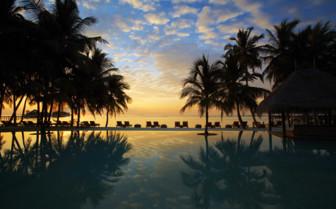 Picture of the Pool at Night, Gili Lankanfushi