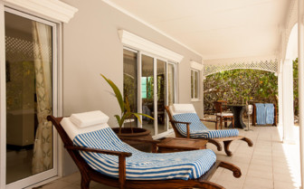 Picture of a Villa Terrace, Cousine Island