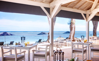 Lux beach restaurant