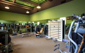 Fitness area at Bauer Palladio, luxury hotel in Italy