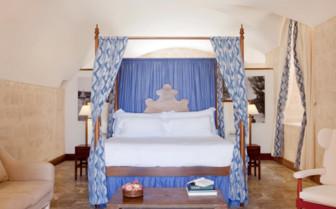 Big suite at Cap Rocat, luxury hotel in Spain