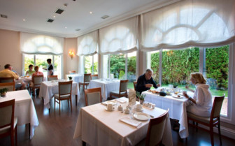 The restaurant at Villa Soro
