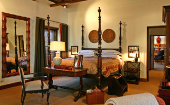 Large suite at Bushmans Kloof hotel