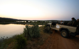 Nature drive at Bushmans Kloof, luxury hotel in South Africa