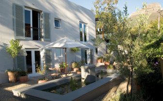 The exterior at Four Rosemead, luxury hotel in Cape Town, South Africa