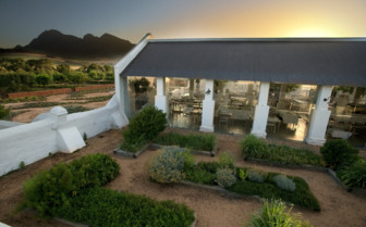 Exterior at the Babylonstoren hotel