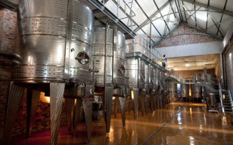Winery at Babylonstoren, luxury hotel in South Africa