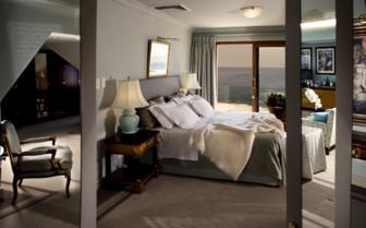 Bedroom at Ellerman House & Villas, luxury hotel in South Africa