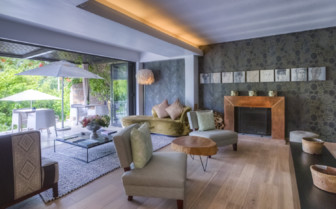 The hotel interior at Kensington Place, luxury hotel in Cape Town, South Afrrica