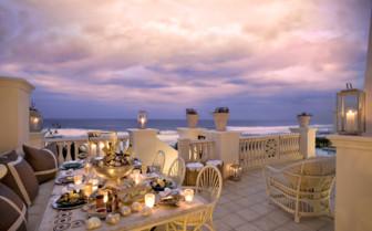 Balcony at Oyster Box Hotel
