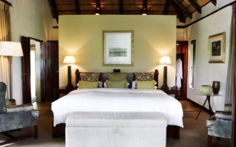 The superior room at Londolozi, luxury hotel in South Africa