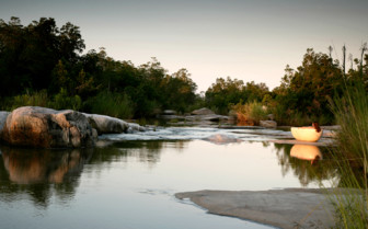 The river at Londolozi hotel