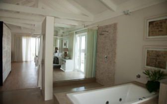 Bathroom at Sea Five, luxury hotel in Cape Town, South Africa