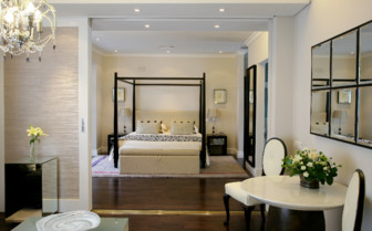 The premier suite at The Cellars- Hohenort