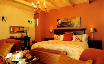 Bedroom at Tintswalo Atlantic hotel