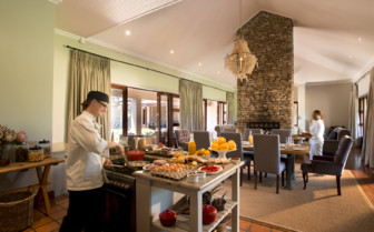 Kitchen at Kwandwe Private Game Reserve