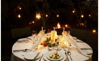 Dinner at Jembisa hotel