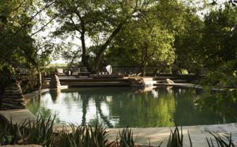 The exterior at Singita Boulders, luxury safari camp in South Africa