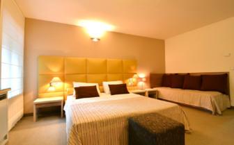Double bedroom at Hotel Kastel