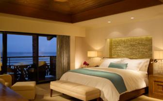 Luxury suite with balcony