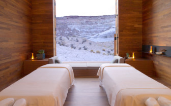 The Aman Spa Treatment Room at the Amangiri hotel