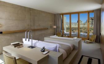 The suite interior at Amangiri hotel