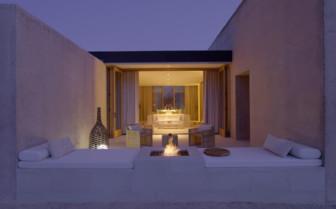 The Girijaala suite at the Amnagiri hotel, luxury hotel in the Great American Wilderness