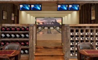 Bowling at Ranch at  Rock Creek, luxury hotel in the Great American Wilderness