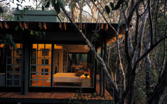 The exterior at the forest room