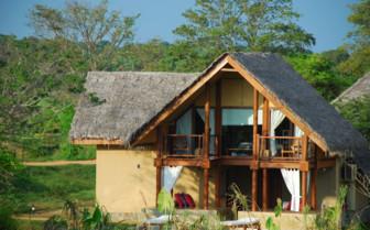 Exterior at Vil Uyana, luxury hotel in Sri Lanka