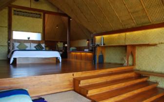 Bedroom at Vil Uyana hotel