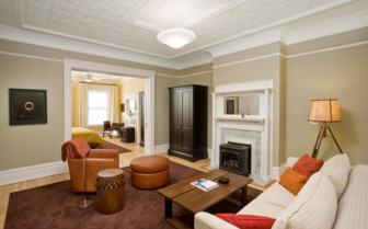Large suite at Cavallo Point hotel