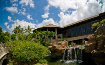 The exterior at Hotel Wailea