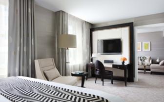 Junior suite at the hotel