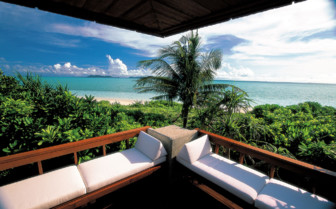 Picture of the View from the Deluxe Hillside Casita at Amanpulo