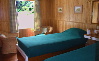 Bedroom at Assam Bengal Navigation Boats