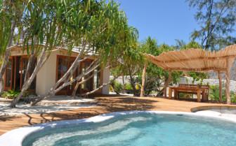 The pool at White Sand Luxury Villas, luxury  hotel in Tanzania