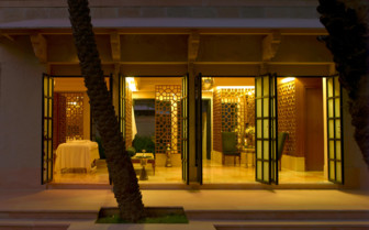 Exterior of the spa room at the hotel