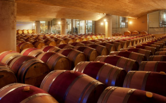 The winery at Delaire Graff Estate, luxury hotel in South Africa