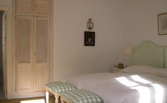 Double bedroom at La Almuna, luxury hotel in Spain