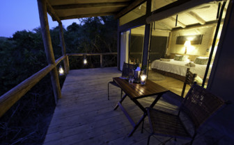The suite exterior at Rocktail Beach Camp, luxury hotel in South Africa
